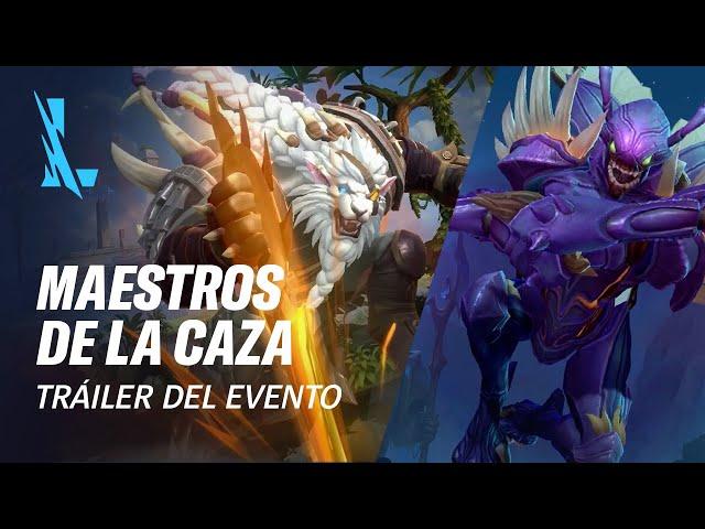 Maestros de la caza | Tráiler oficial del evento - League of Legends: Wild Rift