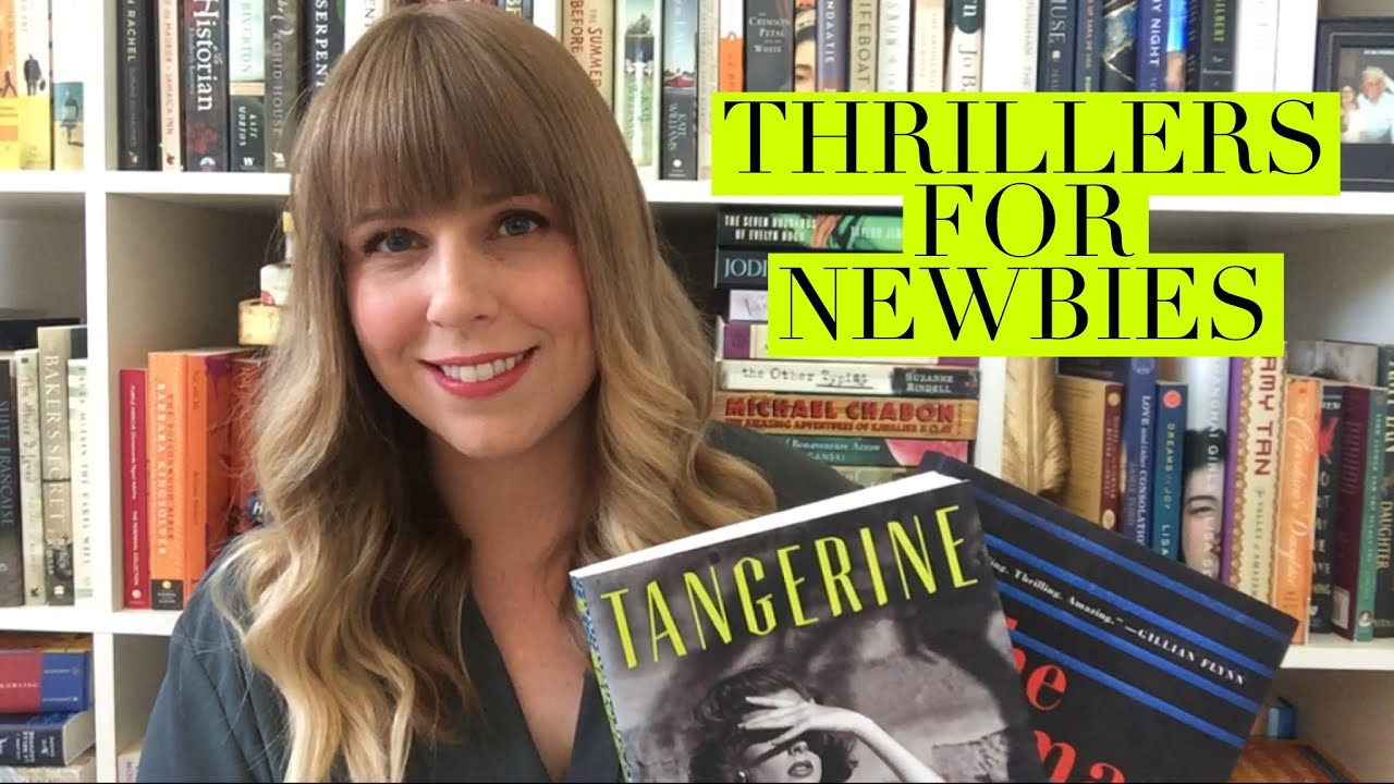 Thriller Book Recommendations For People Who Are New To The Genre Everydaymay