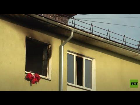مشاة ينقذون 3 أطفال من شقة مشتعلة في روسيا  - نشر قبل 2 ساعة