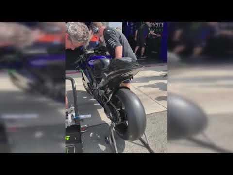 Valentino Rossi test Yamaha Brno 2019