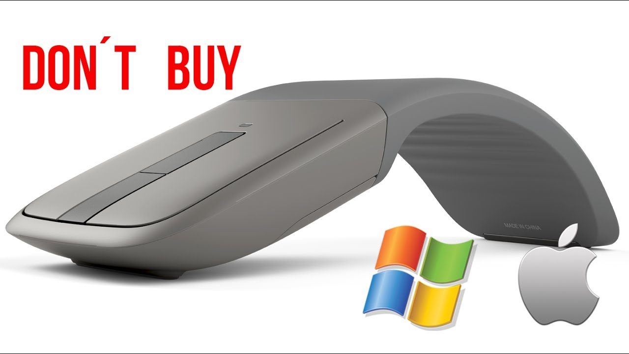 d9e6f454b1b why NOT to buy Microsoft ARC TOUCH BLUETOOTH for MAC - YouTube