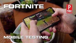 Fortnite Mobile Sign Up Information