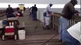 Fishing on the Sunglow pier