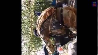 Война видео Украина Донбас  АТО Донбасс Уличный Бой в Широкино позиции ВСУ Июнь 2015   YouTube