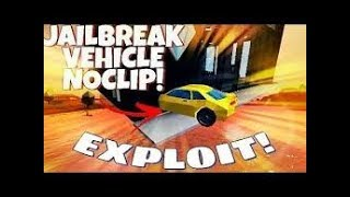 [UNPATCHED] How to noclip your car with btools roblox Jailbreak
