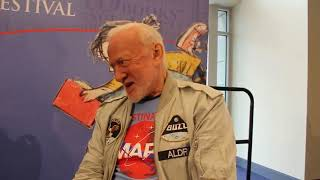Does Buzz Aldrin finally tell the truth?.....Hmmm...???