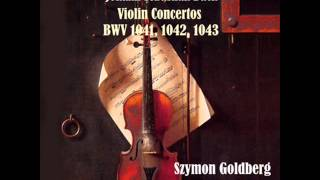 Violin Concerto in E Major, BWV 1042: I. Allegro
