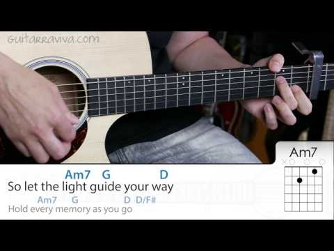How to play see You Again on guitar guitar lesson