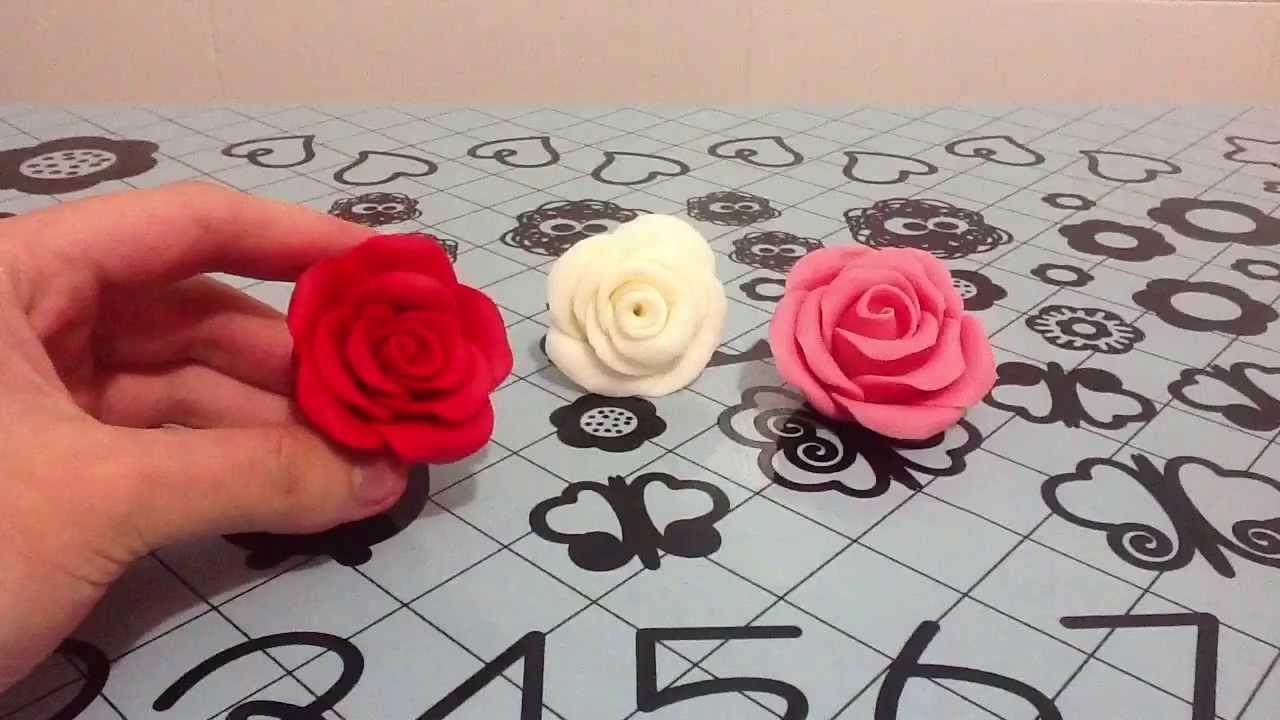 Tutorial c mo hacer rosas con fondant youtube - Www como hacer flores com ...