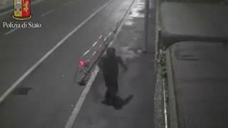 Il video con l'omicida di Marilena Negri