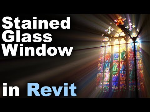 Stained Glass Windows In Revit Tutorial