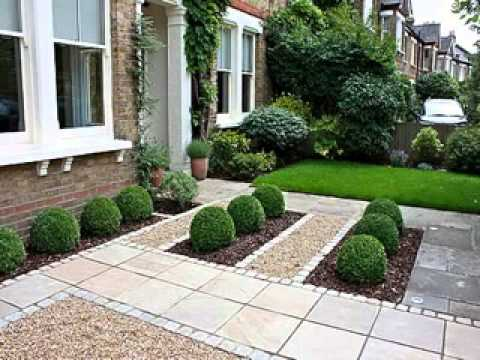 Small front garden design youtube for Landscape small front garden