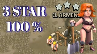 Best War Attack Strategy ,3 Stars Confirm !