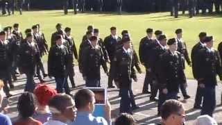 Breanna Cole   Army National Guard Graduation   2014 March