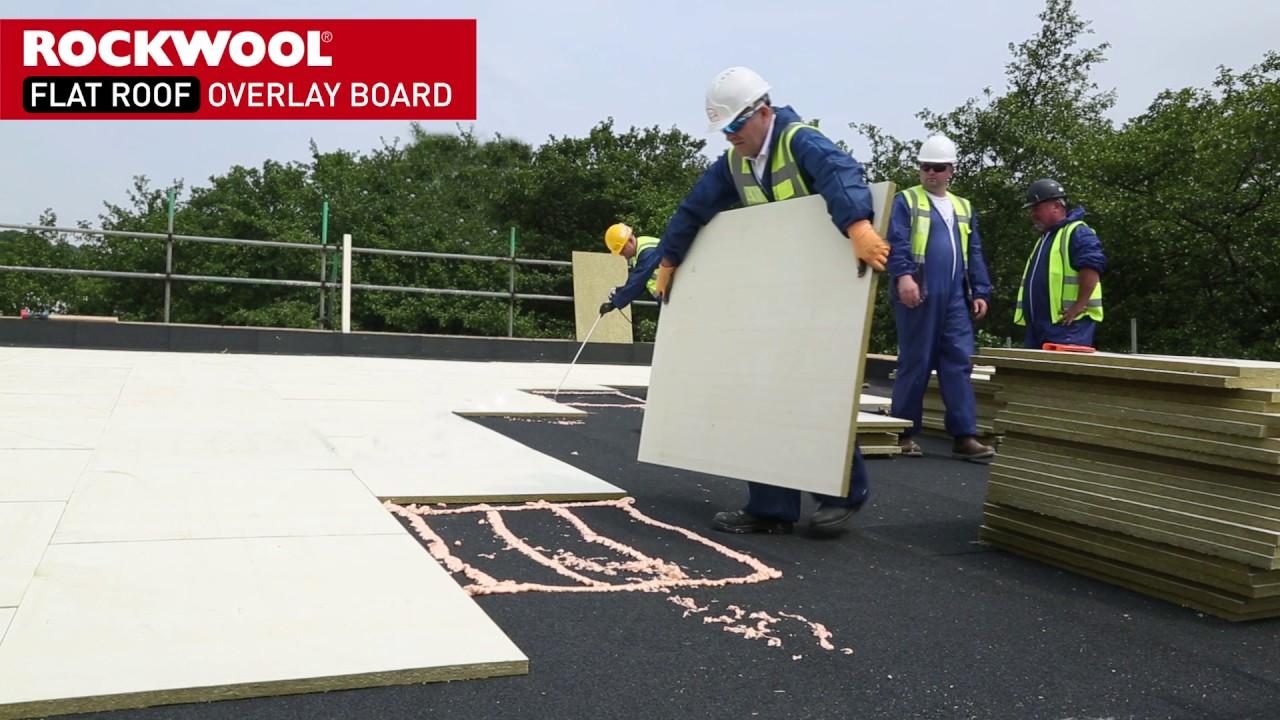 Rockwool Flat Roof Overlay Board Youtube