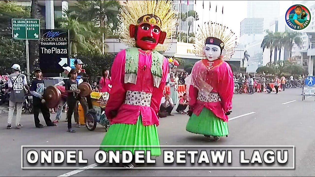 Ondel Ondel Betawi Lagu Ondel Ondel Lukman Kencana Youtube