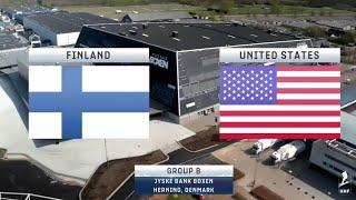 Jääkiekon MM 2018 Suomi - USA [FIN - USA] 6-2 (15.05.2018)