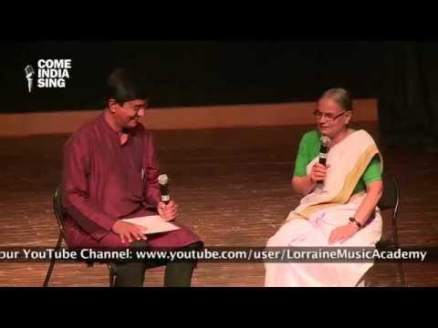 The Thinkers' Forum Charcha with Sushri Radha Bhatt & Shri Aubrey Aloysius
