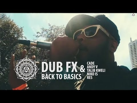Dub Fx & CAde - Back to Basics - Feat. Talib Kweli / Niko Is / RES / Andy V on Keys - Live at SXSW