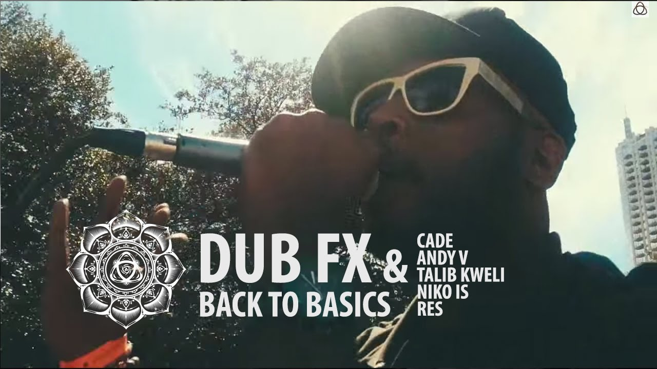Dub Fx & CAde - Back to Basics - Feat. Talib Kweli / Niko Is / RES / Andy V on Keys - Live at SX