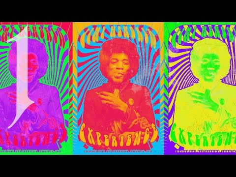 Photoshop Tutorial: Part 1 ~ How to Create a 1960s Psychedelic Poster (Design #3)
