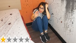 Leaving Girlfriend Overnight At The Worst Rated Hotel In My City!!