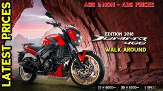 2018 Bajaj Dominar Red Colour Walk around | Canyon Red | Price and Specifications |  Happy Journey