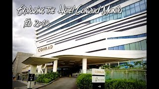 Conrad Manila - Room Tour of the Deluxe and Premier Rooms!