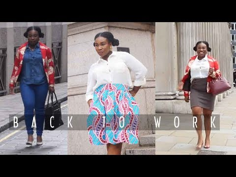BACK TO SCHOOL/WORK | ANKARA LOOKBOOK 2017