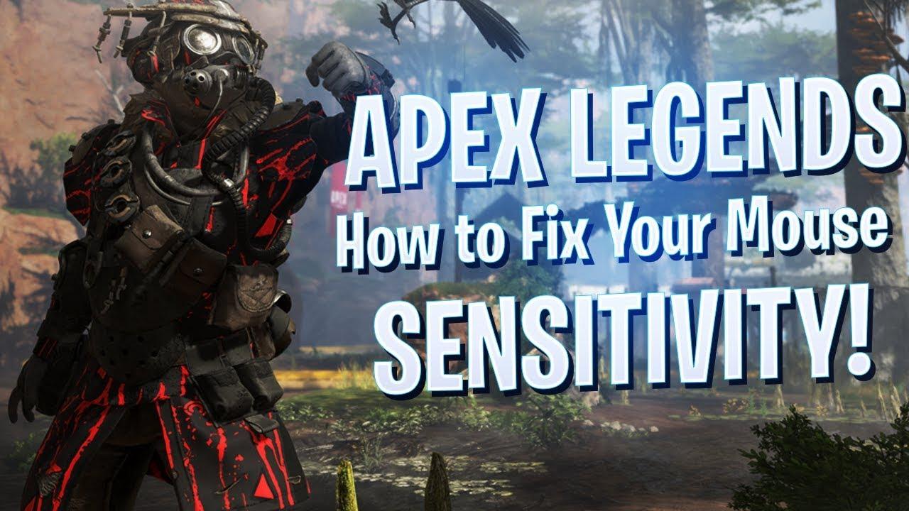APEX LEGENDS – How to Fix Mouse Sensitivity/Mouse Input Delay/Sluggish Mouse Movement