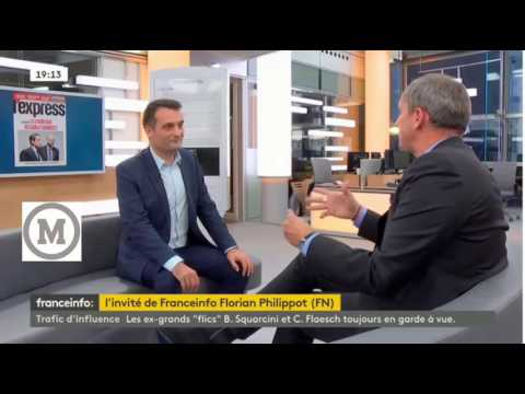 Florian Philippot sur Sarkozy et Buisson 27.09.2016