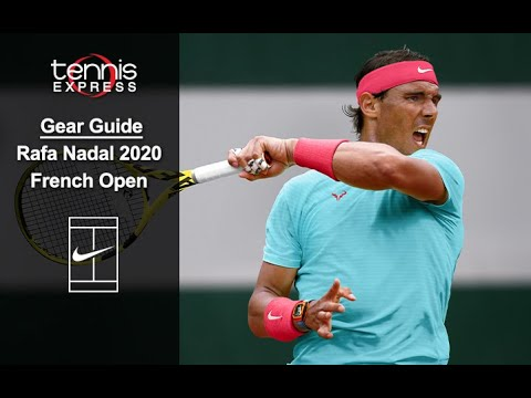Rafael Nadal S Tennis Equipment Gear Clothing Shoes And Accessories