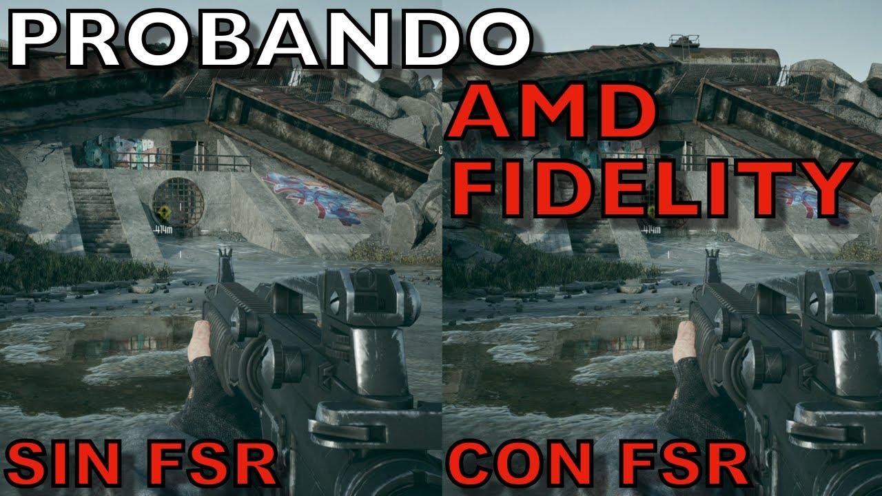FidelityFX Super Resolución es INCREIBLE! - Guia de como usar y activar AMD FSR