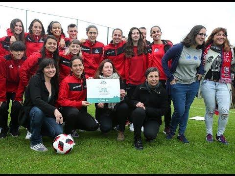 Proyecto Asturies: entrega del premio al Gijón Fútbol Femenino