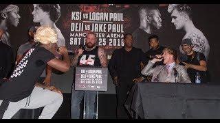Why Logan Paul Left. *Exclusive* KSI VS LOGAN PAUL PRESS CONFERENCE