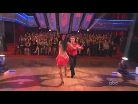 Nicole Scherzinger & Derek Hough - Dancing With The Stars - samba week 6