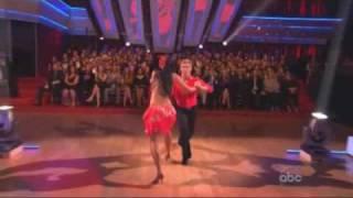 Nicole Scherzinger & Derek Hough - Dancing With The Stars - samba week 6