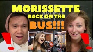 "Morissette Amon performs ""Rise Up"" LIVE on Wish 107.5 Bus REACTION"
