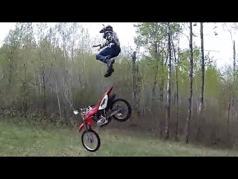 Dirt Bike Fails, Crashes & Funny Moments 2017