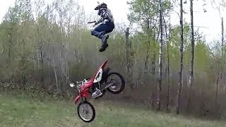 Dirt Bike Fails, Crashes & Funny Moments 2017