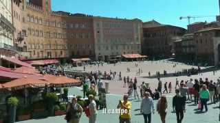 ITALY Siena, Tuscany (HD-video)(Short impression of this popular town. Even if you have little time to spend don't forget to visit the cathedral and il campo., 2014-07-05T13:27:41.000Z)