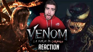 VENOM 2: La Furia di Carnage | REACTION al PRIMO TRAILER