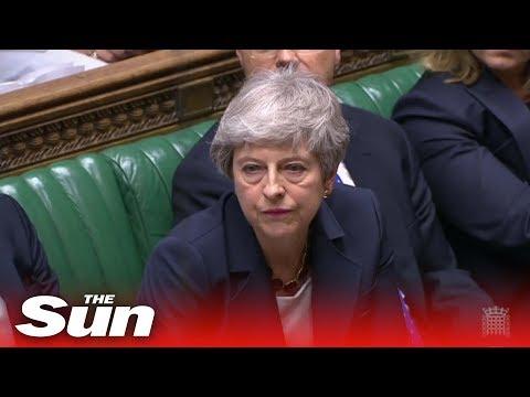 Theresa May condemns Trump tweets again