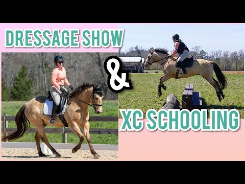 Cross Country Raws ~ Dressage Show