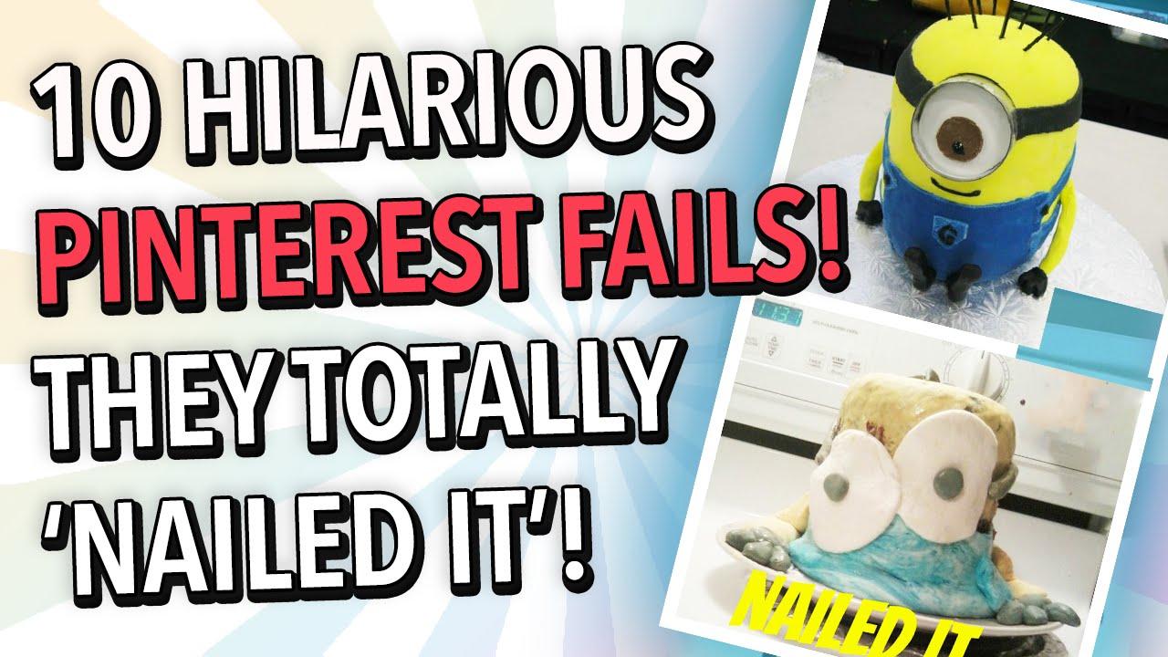 Pinterest Hilarious: 10 Hilarious Pinterest Fails