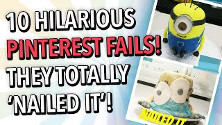 10 Hilarious Pinterest Fails - They Totally Nailed It!