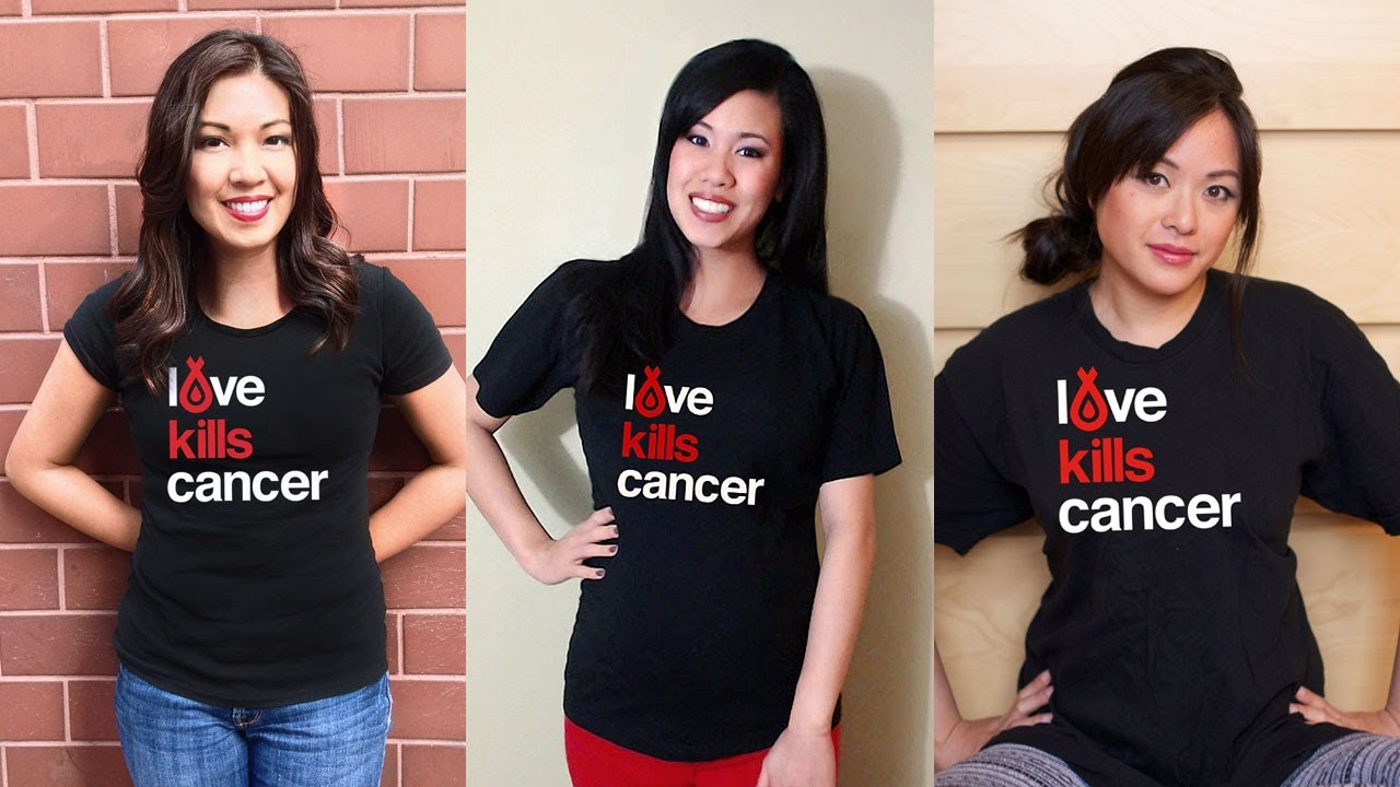 On Valentine S Day Learn How Love Kills Cancer T Shirt Design