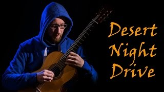 Desert Night Drive, for classical guitar (New Century Guitar)