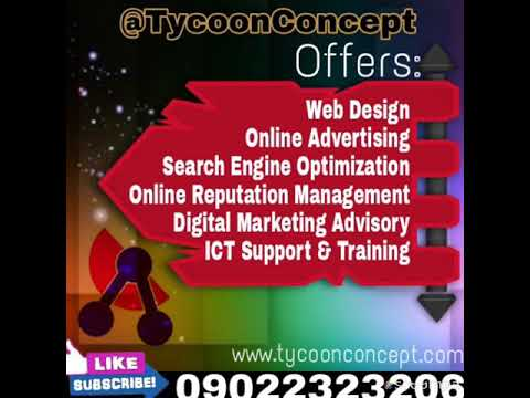 Integrated Marketing Communication- Nigeria -Tycoon Concept