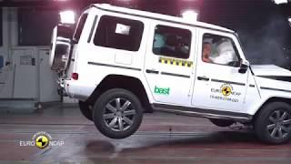 mercedes benz g class crash test 2002